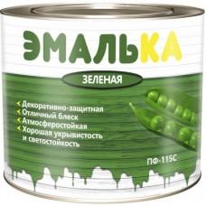 Эмаль ПФ-115 зеленая 0,9л