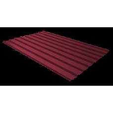 Профильный лист С-8, 2.0м (красное вино), купить в речице