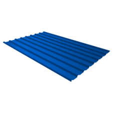 Профильный лист С-8 RETAIL, 1.5м (синий)