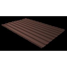 Профильный лист С-8, 2.0м (коричневый), купить в речице